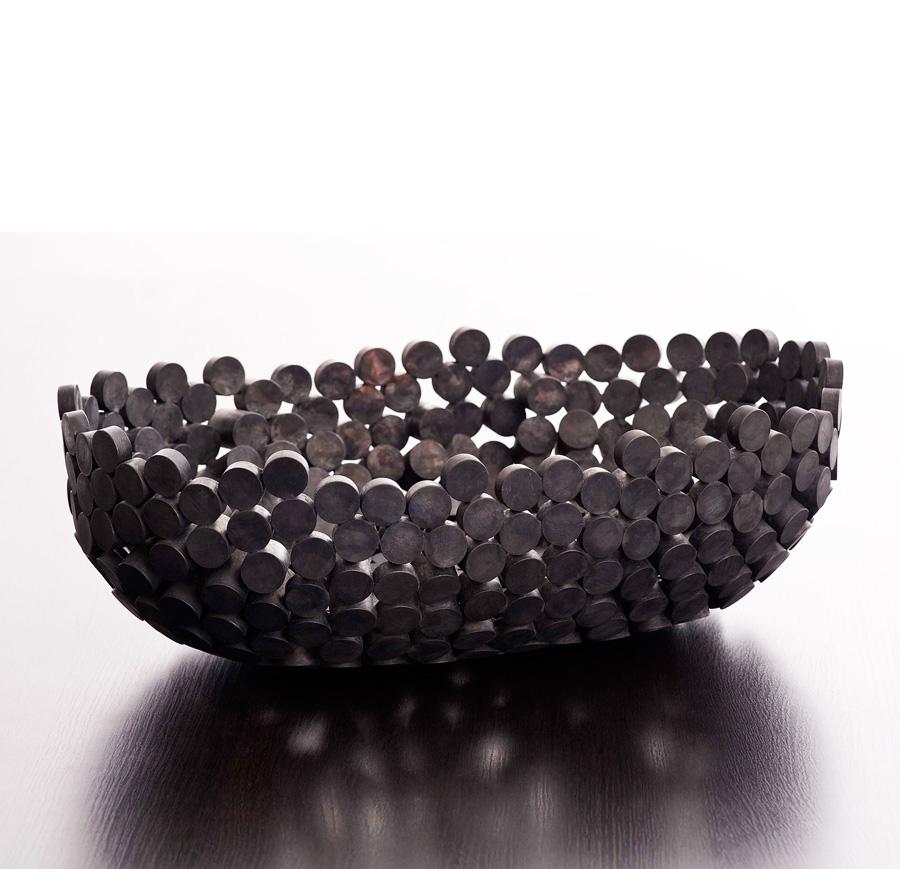 skål bowl Annette Zey utställning metallformgivning silversmide