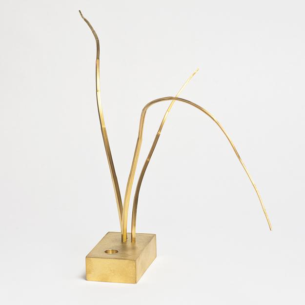 Växt, skulptur, Pernilla Sylwan.