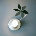 Ett tyst änglaspel med blomsnurra. Petronella Eriksson