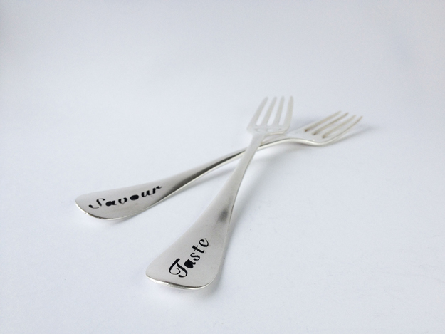 One of the contributes for the exhibition The Fork, made by Sidsel Dorph-Jensen.
