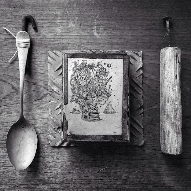 Pierce Healy, brosch av silver.