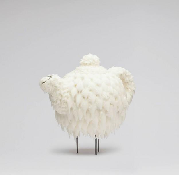 Tekanna av socker, ett verk av den gränsöverskridande korpus kreatören Karolina Hägg.