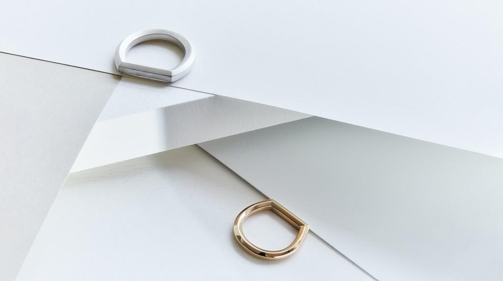 Makiami silverring O från Arch kollektion