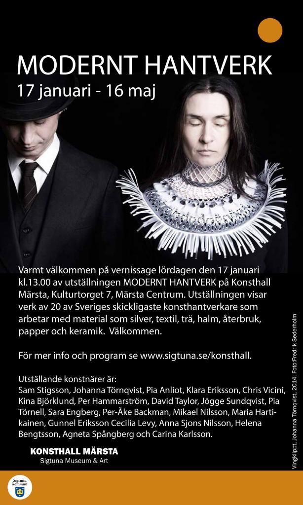 Modernt Hantverk, Konsthall Märsta.
