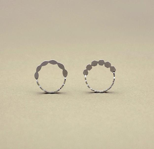 Makiami wedingbands, seeds rings